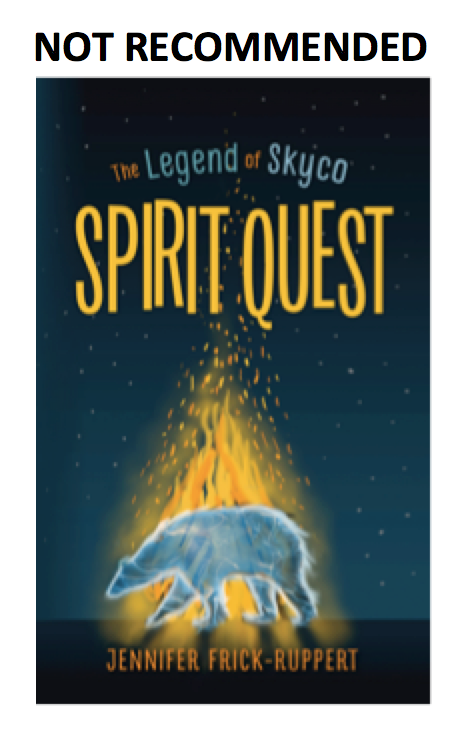 A Reader Asked Me About The Legend Of Skyco Spirit Quest By Jennifer Frick Ruppert Due Out On April 4 2017 From Amber Jack Publishing