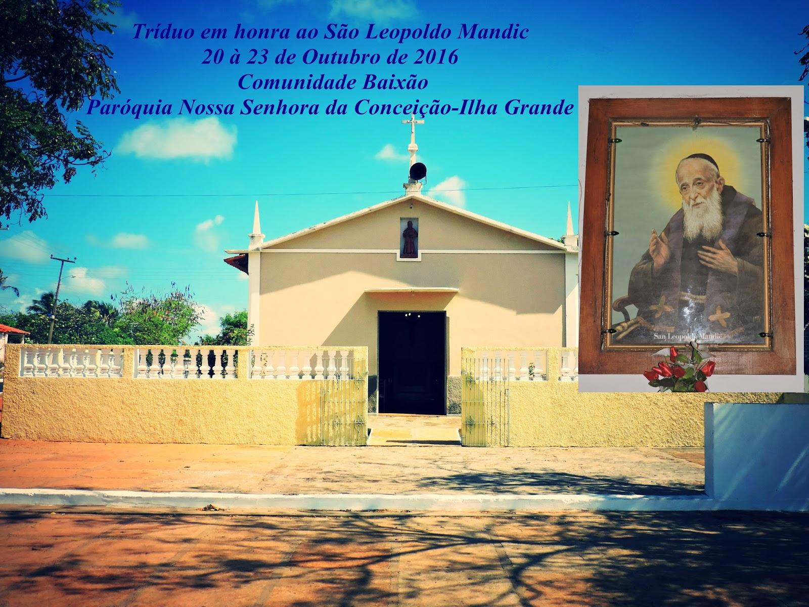 Tríduo São Leopoldo Mandic