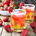 Honey Mango Strawberry Margarita #summer #freshdrink