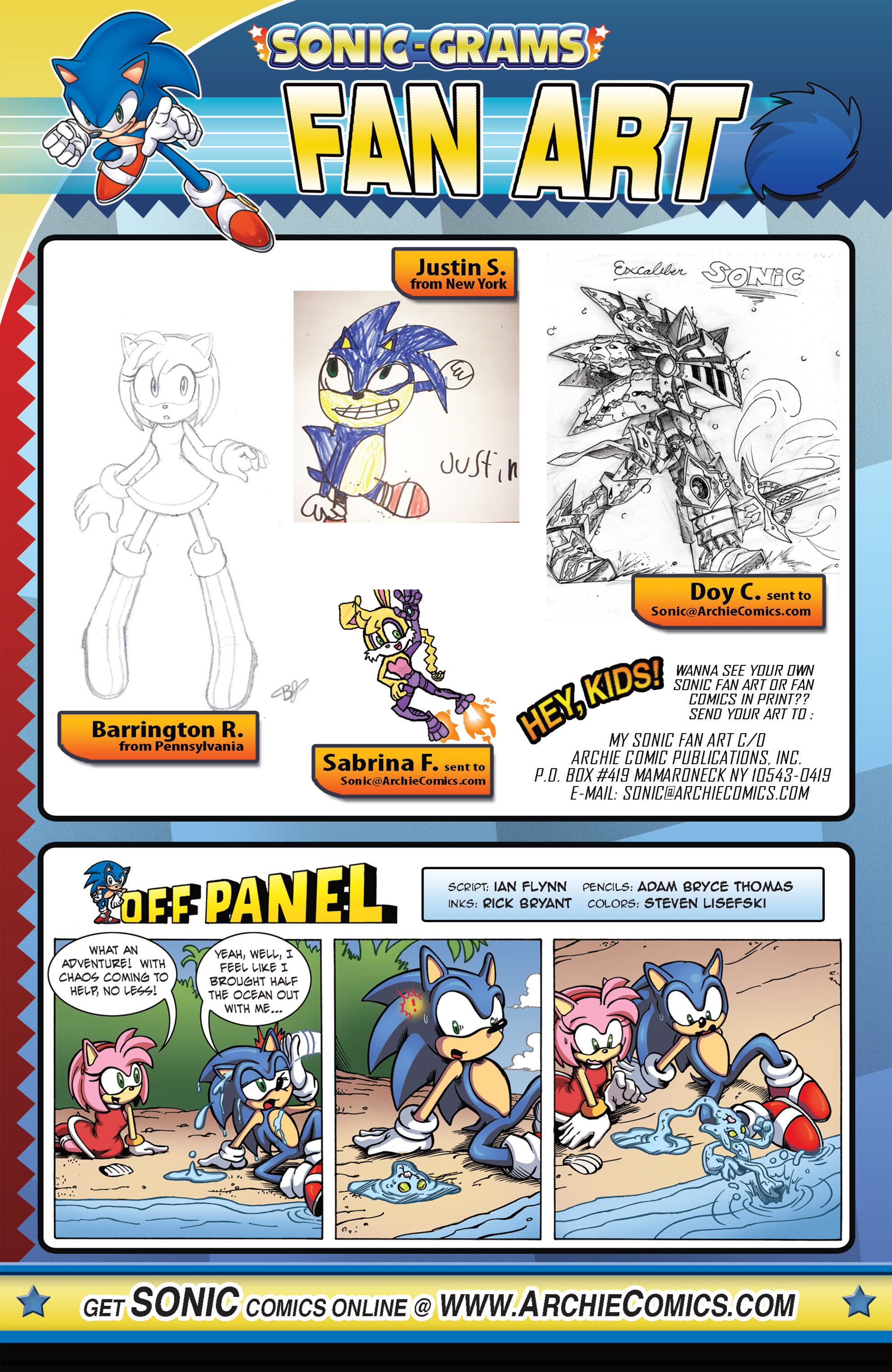 Read online Sonic The Hedgehog comic -  Issue #263 - 23