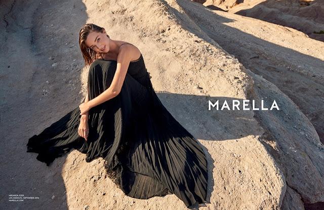 Marella Spring/Summer 2017 Campaign featuring Miranda Kerr