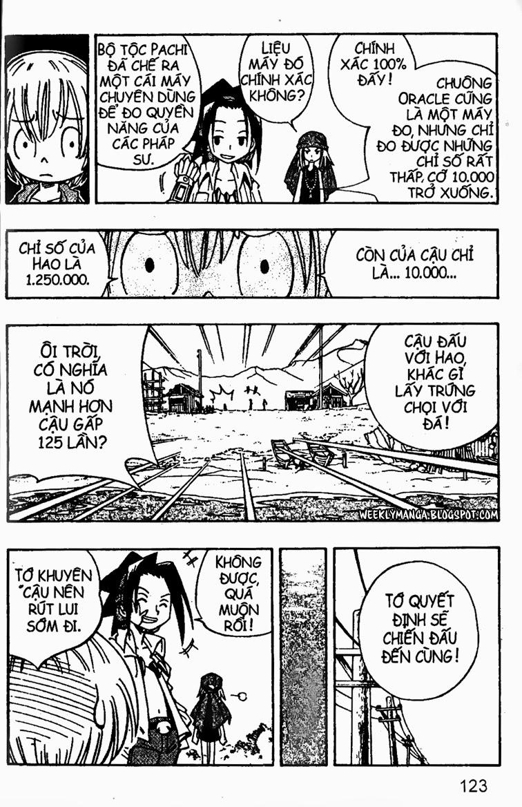 Shaman King [Vua pháp thuật] chap 147 trang 10