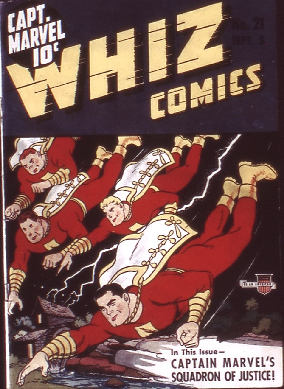 WHIZ Comics issue 21 - Page 1
