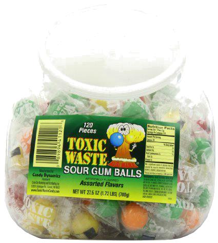 chewingum tossici