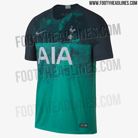 1517dd6fa Tottenham 2018-2019 Third Jersey. This is the Tottenham 18-19 third shirt. Tottenham  Hotspur 18-19 Third Kit Released