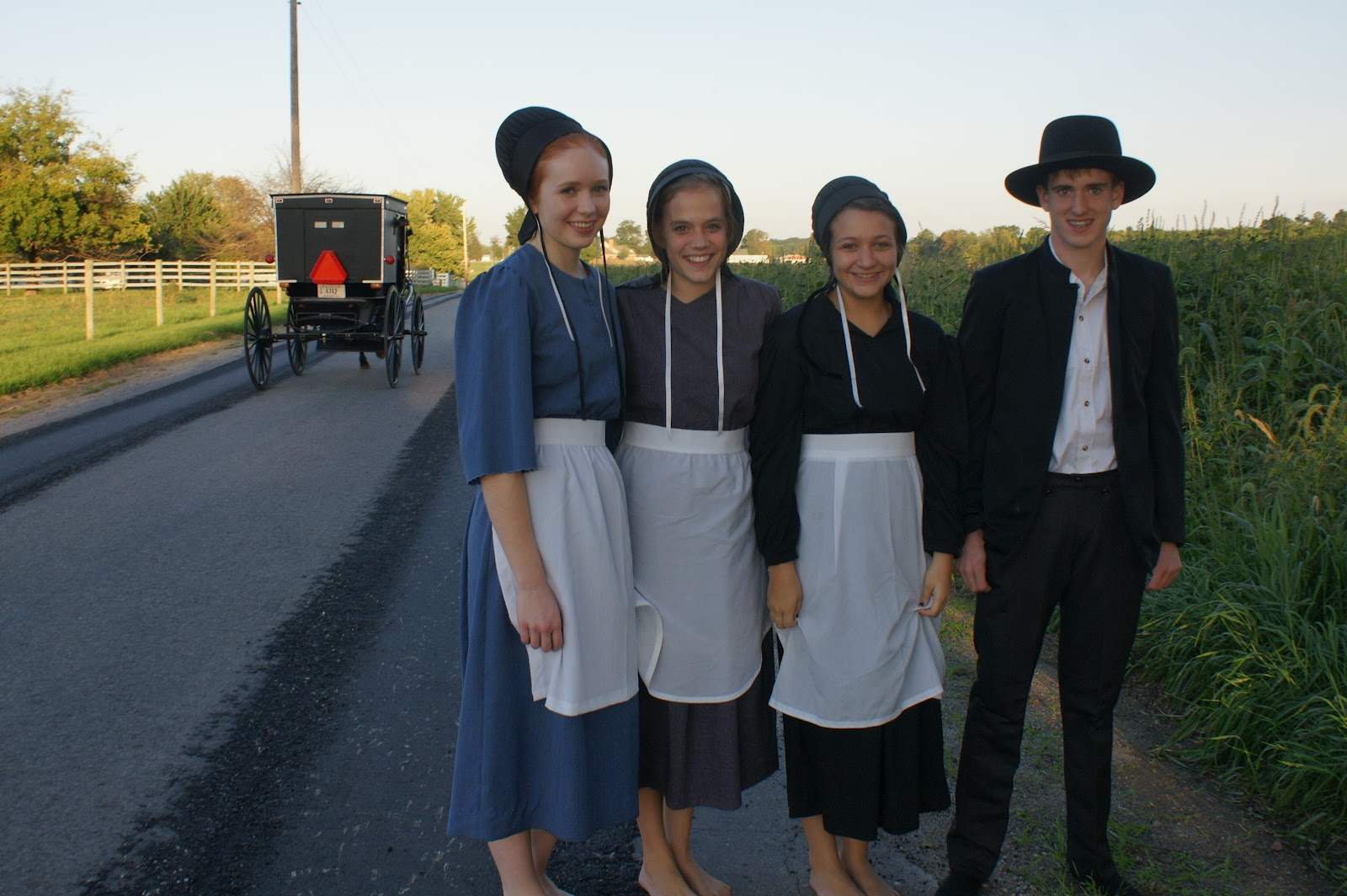 Of Amish Woman Teen Found 75
