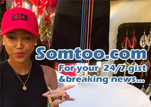 Tania Omotayo gushes over her 'someone' - image rose on http://somtoo.co