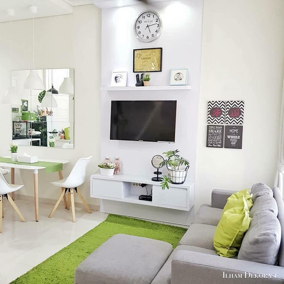Desain Ruang Tamu Shabby Chic Sobhome