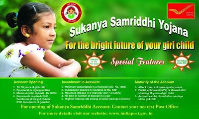 Sukanya Samriddhi Yojana rule