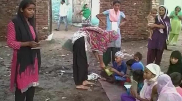 Mungkin Satu-satunya Didunia, Gadis Ini Ajarkan Anak-anak Membaca Al Quran Meski Ia Bukan Seorang Muslim