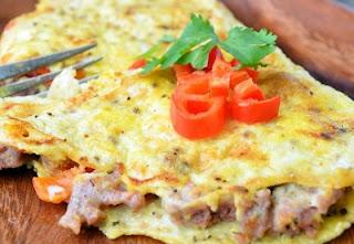 Resep Telur: Omelet Jepang
