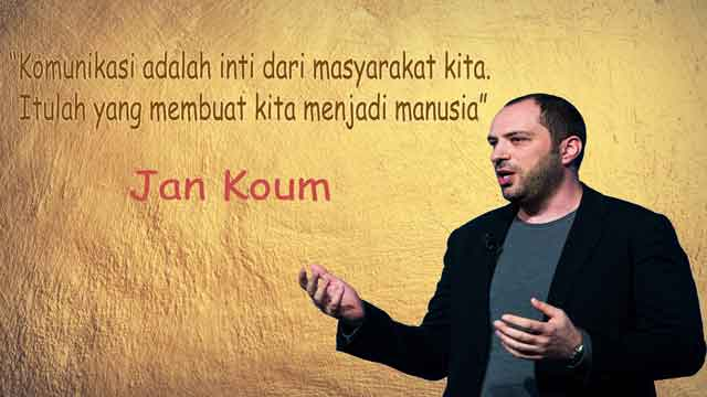 quotes inspirasi jan koum