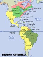 Peta Benua Amerika
