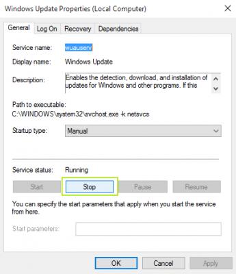 Properties pada Windows 10