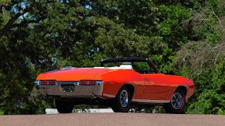 1969 Pontiac LeMans GTO Ram Air IV Convertible Rear