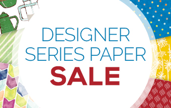 Stampin'Up! Designer Paper on sales