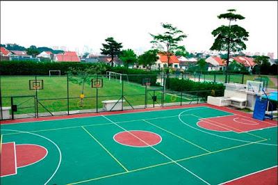 Lapangan Basket Outdoor