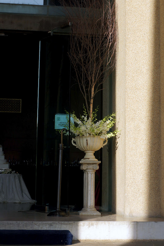 Knestrick by Design Candles and Orchids at the Parthenon