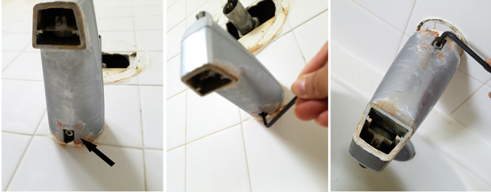 bathroom makeover demolition