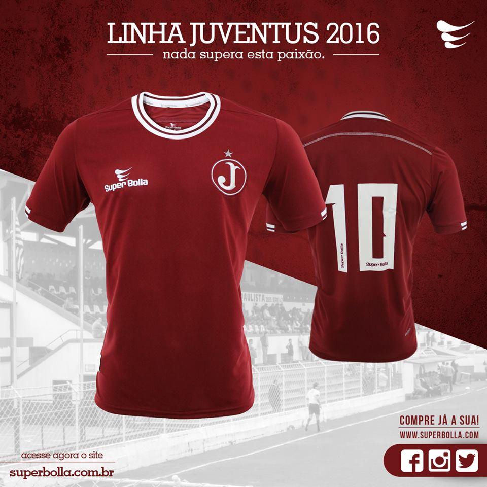 Manto Juventino - As camisas do Clube Atlético Juventus  2015 7109ae9e17c52