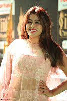 Nidhi Subbaiah Glamorous Pics in Transparent Peachy Gown at IIFA Utsavam Awards 2017  HD Exclusive Pics 25.JPG