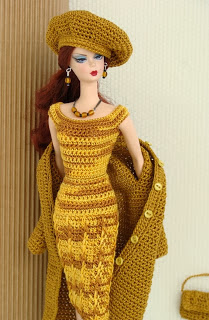 Passo a Passo Como Fazer Um Vestido de Crochê Para Boneca Barbie