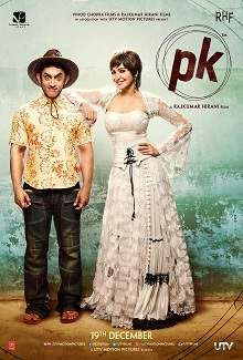 PK (2014) Hindi Movie Poster