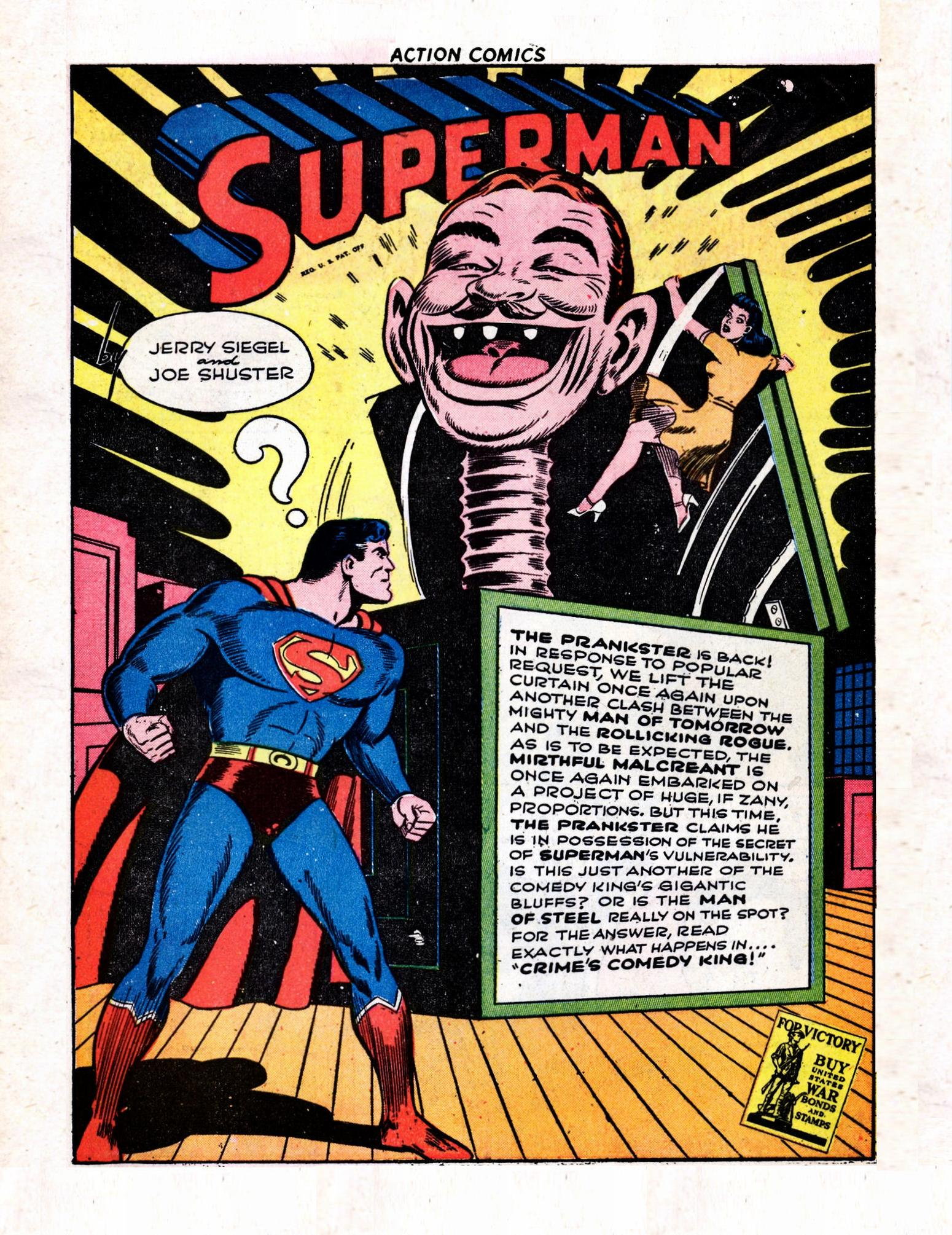Read online Action Comics (1938) comic -  Issue #57 - 3