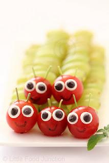 frutas y niños fiesta infantil
