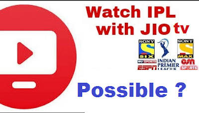 Watch IPL in Jio TV