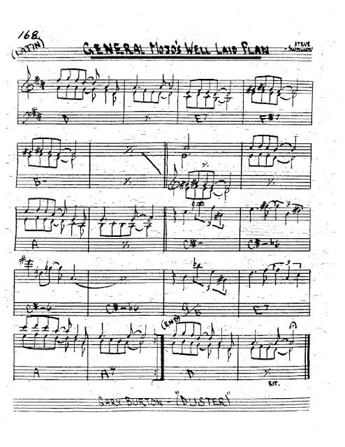 Partitura Trompeta Steve Swallow