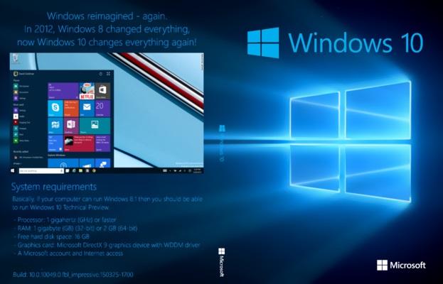 Shaigle: Windows 10 installation