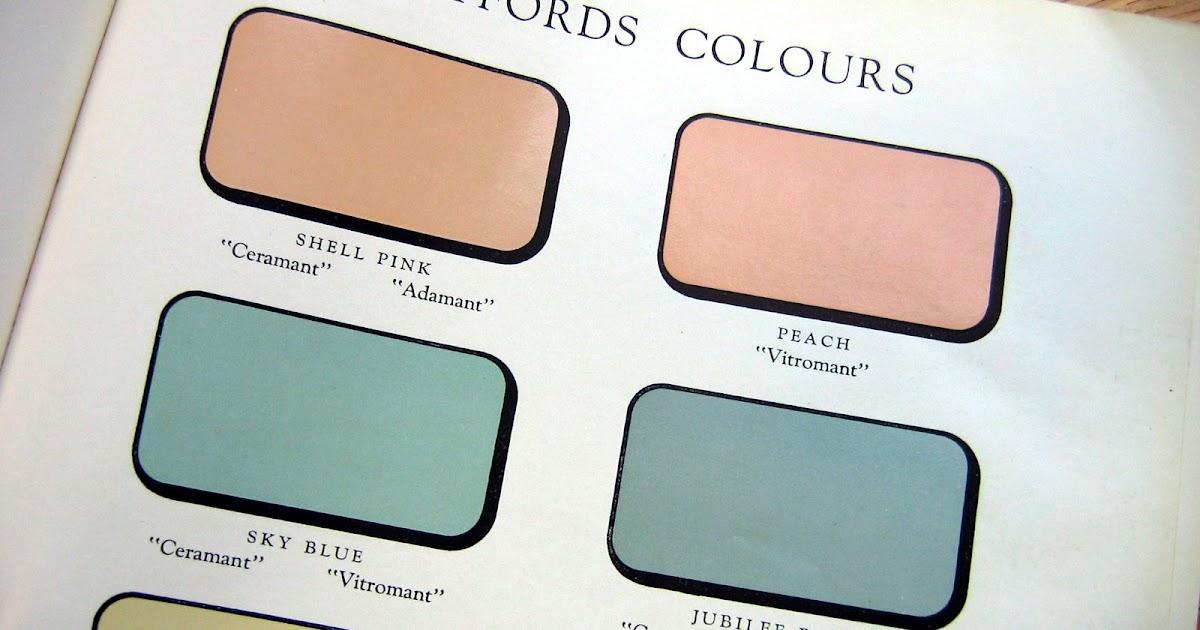 Twyford Bathrooms History Colours
