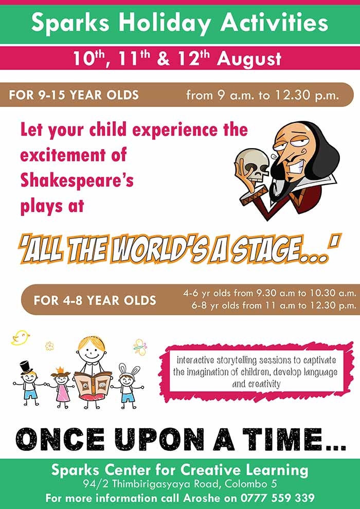 Kids Holiday Activities at Sparks