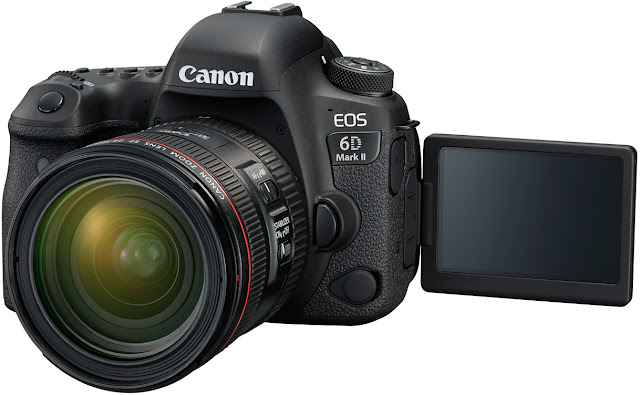 Canon 6D Mark II Body with Vari-Angle Touchscreen