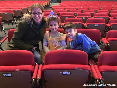 Family at the theatre