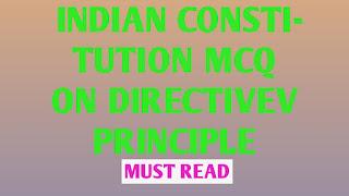 oneliner 100+Mcq question directive principle