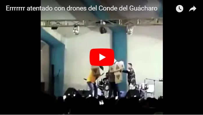 El Conde del Guácharo hizo una parodia sobre los drones