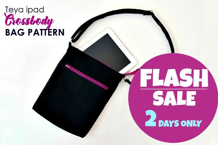 Teya - brand new Crossbody Bag Pattern - Get it here.