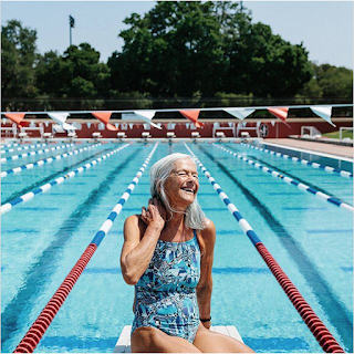 Daniela Barnea, the 73-year-old Masters swimmer who won 3 gold medals