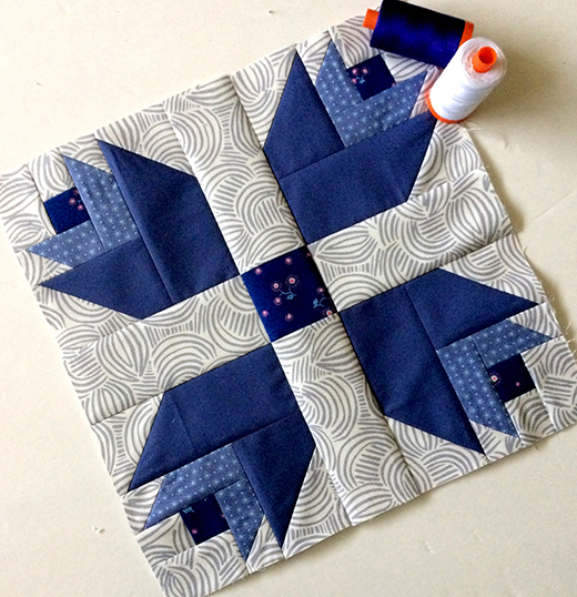 Dutch Treat Quilt Block Free Pattern by Maureen Cracknell Hand Made