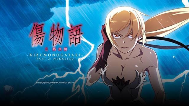 Download Anime Kizumonogatari II Nekketsu-hen Subtitle Indonesia