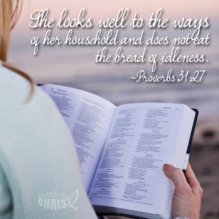A Proverbs 31 Woman Does More Than Keep Her Home...