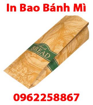 In bao bánh mì giá tốt nhất tại TPHCM