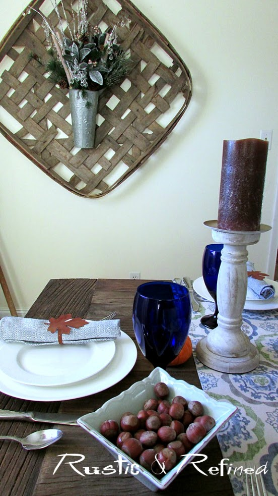How to set an inexpensive table for thanksgiving