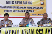 Kapolres Selayar Perintahkan Tindak Tegas Pelaku Illegal Fishing