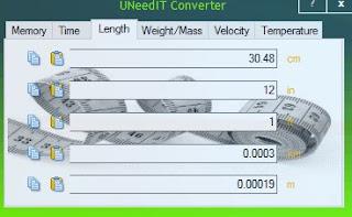 Programma UNeedIT Converter