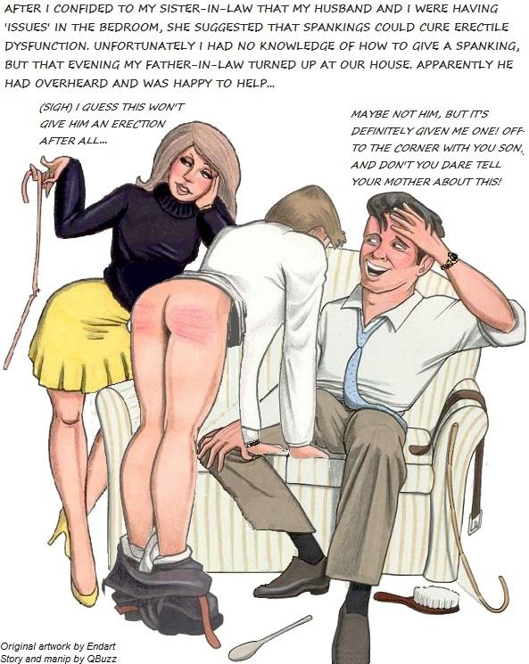Erotic Otk Spanking Husband Wife