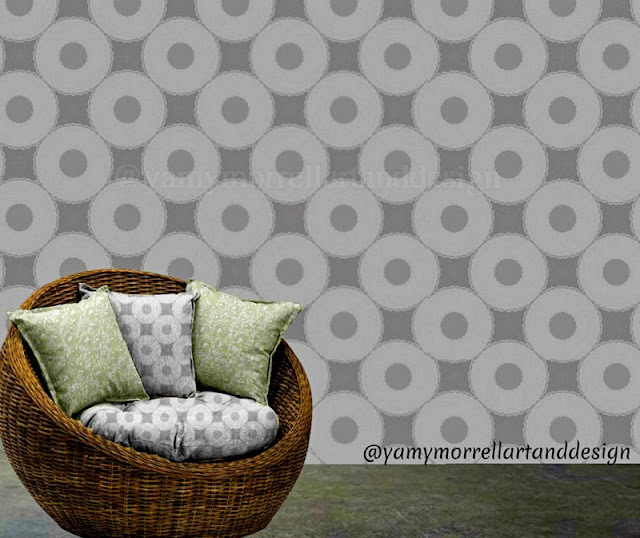 monochromatic-Wallpaper-pattern-by-yamy-morrell