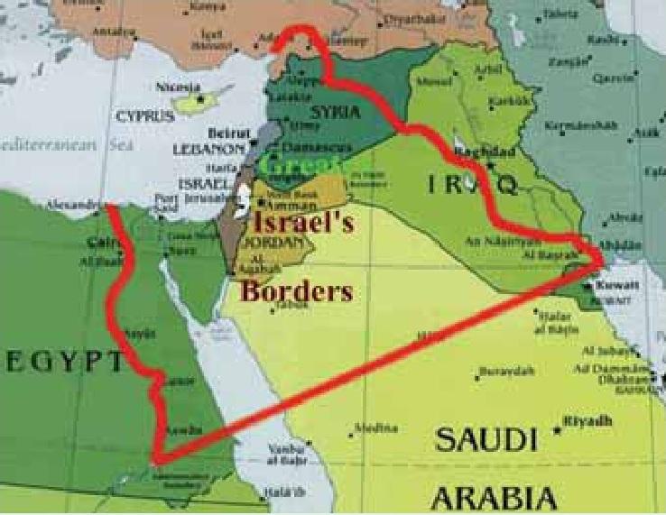 PEMBENTUKAN ISRAEL RAYA